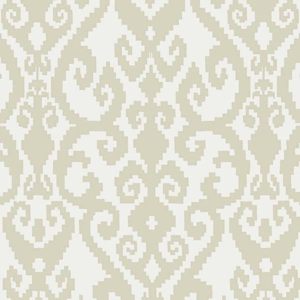 Clarke & Clarke Malika - Ivory Fabrics - Decor Rooms - 1