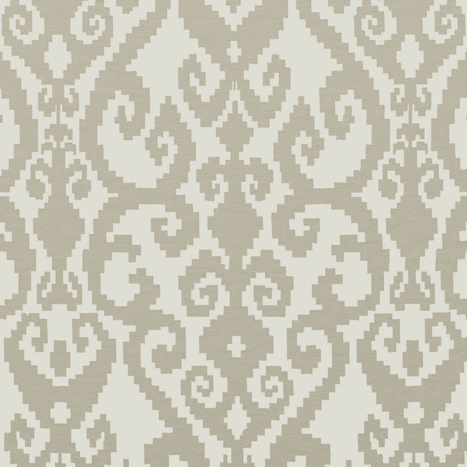 Clarke & Clarke Malika - Sand Fabrics - Decor Rooms - 1