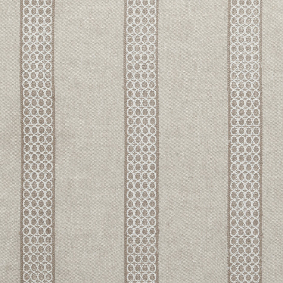 Clarke & Clarke Lali - Oatmeal Fabrics - Decor Rooms - 1