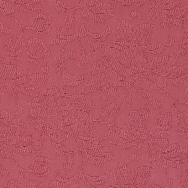 Clarke & Clarke Davina - Raspberry Fabrics - Decor Rooms - 1