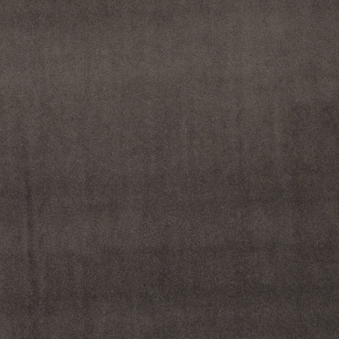 Clarke & Clarke Alvar Rich Velvet Fabric- Charcoal F0753/02 by Clarke & Clarke - Decor Rooms Fabrics - Decor Rooms - 1