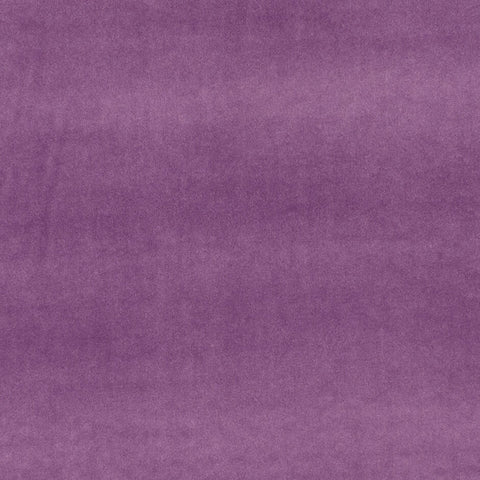 Clarke & Clarke Alvar Velvet- Heather F0753/05 Fabrics - Decor Rooms - 1