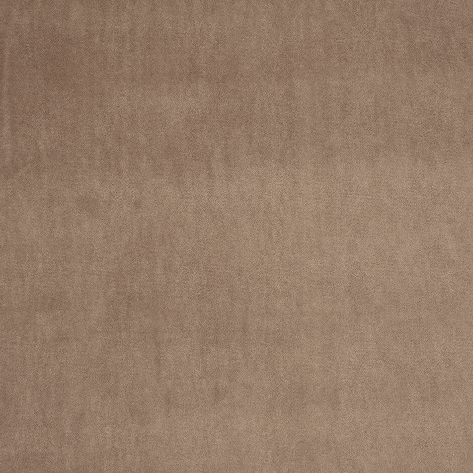 Clarke & Clarke Alvar Velvet Fabric - Mocha F0753/07 Fabrics - Decor Rooms - 1
