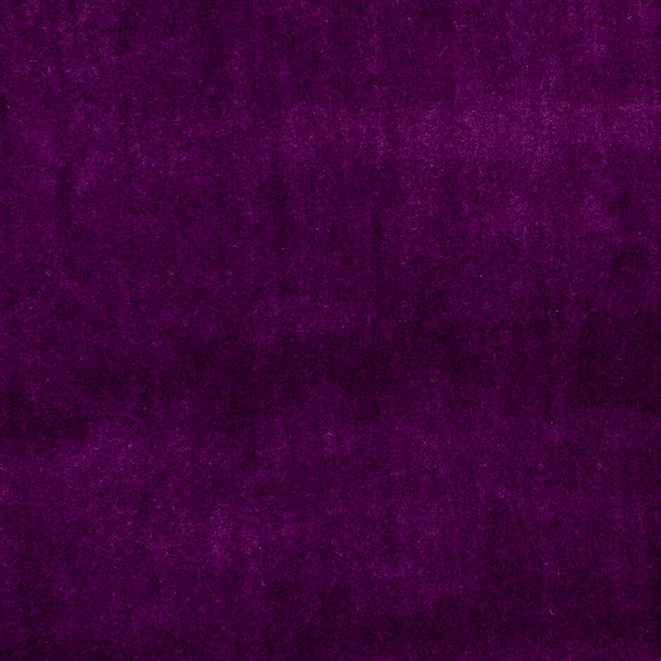 Clarke & Clarke Alvar Velvet- Plum F0753/10 Fabrics - Decor Rooms - 1