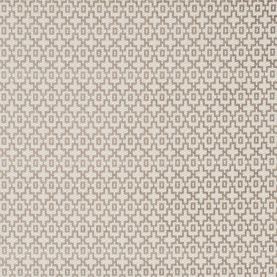 Clarke & Clarke Mansour - Taupe Fabrics - Decor Rooms - 1