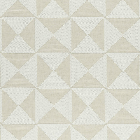 Amara Collection -Adisa Natural  Fabric by Clarke & Clarke - Decor Rooms