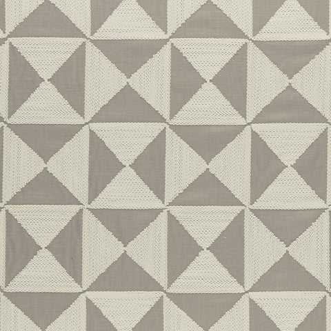Amara Collection -Adisa Taupe  Fabric by Clarke & Clarke - Decor Rooms