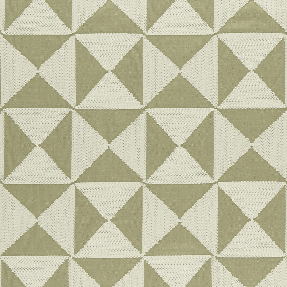 Amara Collection -Adisa Willow  Fabric by Clarke & Clarke - Decor Rooms