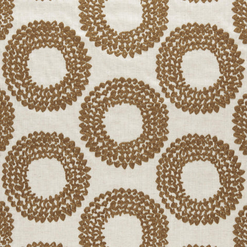 Amara collection - Dashiki Cinnamon Fabric - Clarke and Clarke - Decor Rooms
