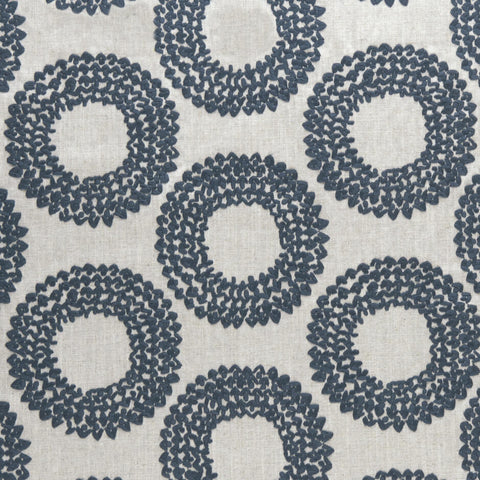 Amara collection - Dashiki Indigo Fabric - Clarke and Clarke - Decor Rooms