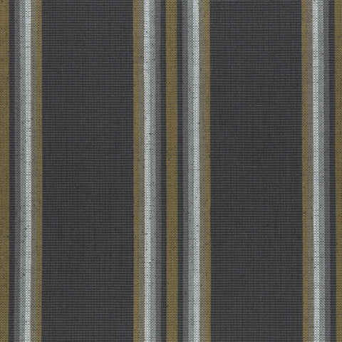 Amara Collection-Imani Charcoal/Cinnamon Fabric by Clarke & Clarke - Decor Rooms