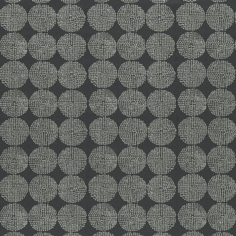 Kiko Charcoal Fabric by Clarke & Clarke - Decor Rooms