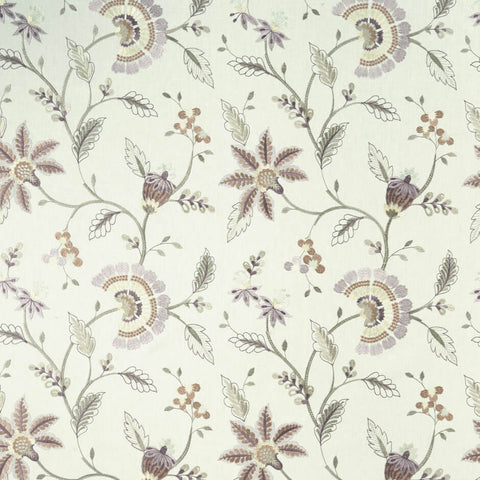 Delamere Heather Fabric by Clarke & Clarke Decor Rooms