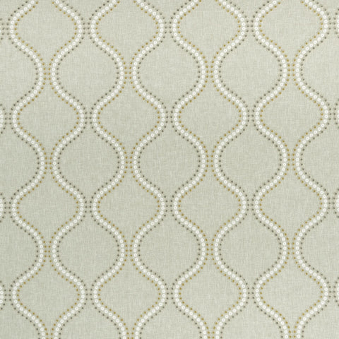 Layton Chartreuse Fabric Clarke & Clarke - Decor Rooms