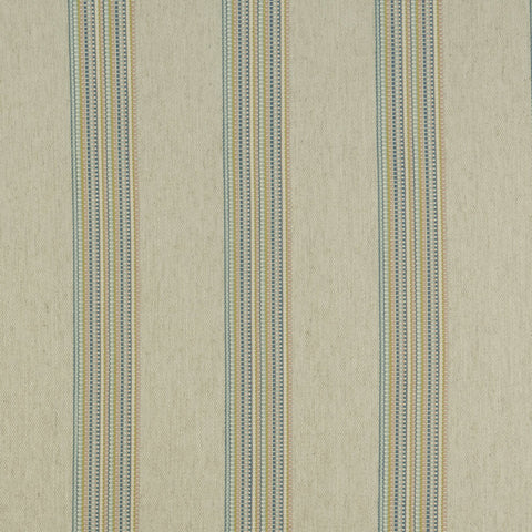 Boho Stripe Damson/Spice Fabric by Clarke & Clarke - Decor Rooms