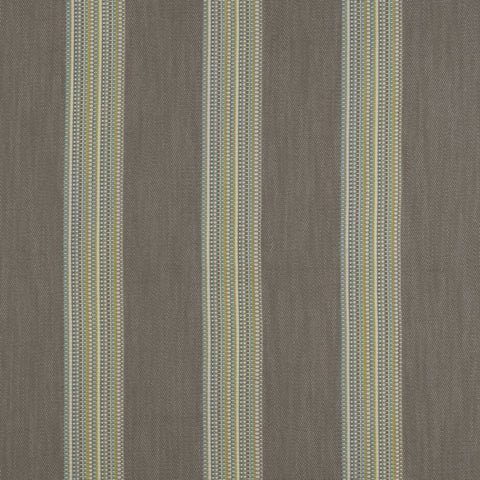 Boho Stripe Mineral/Citron Fabric by Clarke & Clarke - Decor Rooms