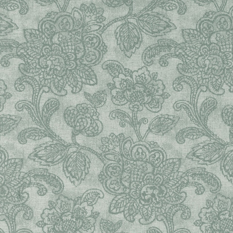 Cranbrook Eau De Nil Fabric by Clarke & Clarke - Decor Rooms