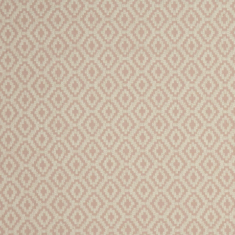 Keaton Blush Fabric by Clarke & Clarke - Decor Rooms