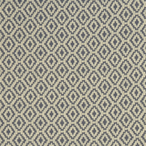 Keaton Midnight Fabric by Clarke & Clarke - Decor Rooms
