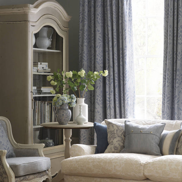 Clarke & Clarke Angus - Charcoal Fabrics - Decor Rooms - 2
