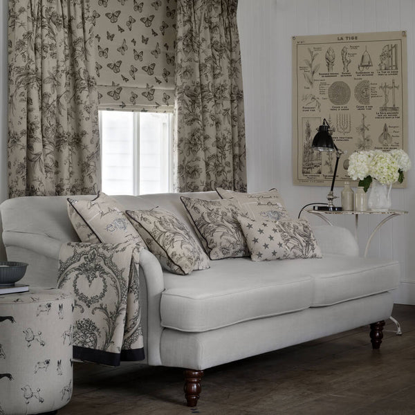 Clarke & Clarke Mariposa - Duckegg Fabrics - Decor Rooms - 2