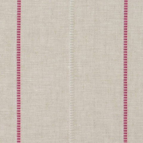 Clarke & Clarke Punto - Fuchsia Fabrics - Decor Rooms - 1
