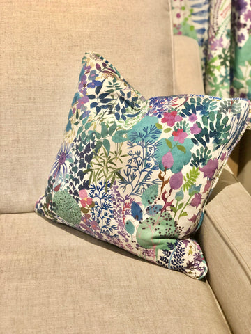 2 Scatter Cushions in Fresco Lagoon