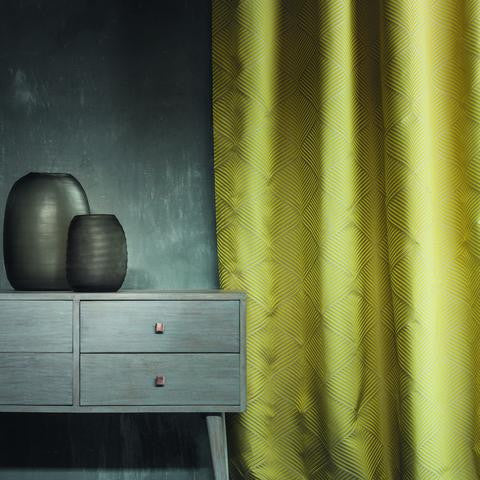 Casamance Phalguna - Jaune 35920729 Fabrics - Decor Rooms - 2