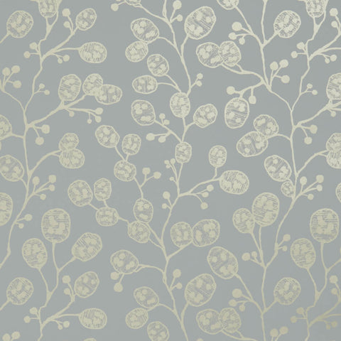 Honesty Mineral/Gold Wallpaper by Clarke & Clarke - Decor Rooms