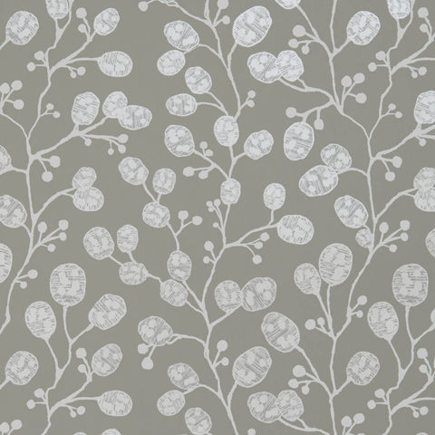 Honesty Taupe/Pearl Wallpaper by Clarke & Clarke - Decor Rooms
