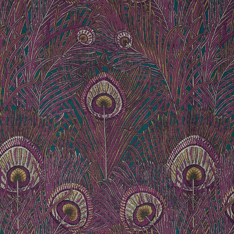 Hera Fabric in Anemone by Liberty at Decor Rooms