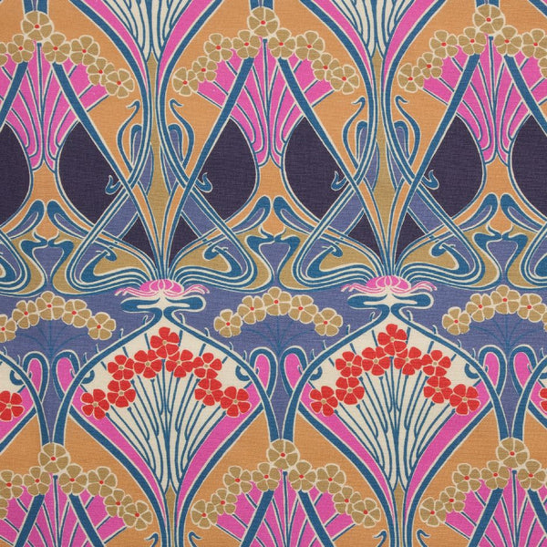 Ianthe Flower Fabric in Lasenby by Liberty at Decor Rooms
