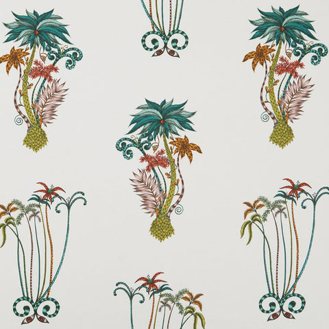 Jungle palms Fabric by Clarke & Clarke - Decor Rooms