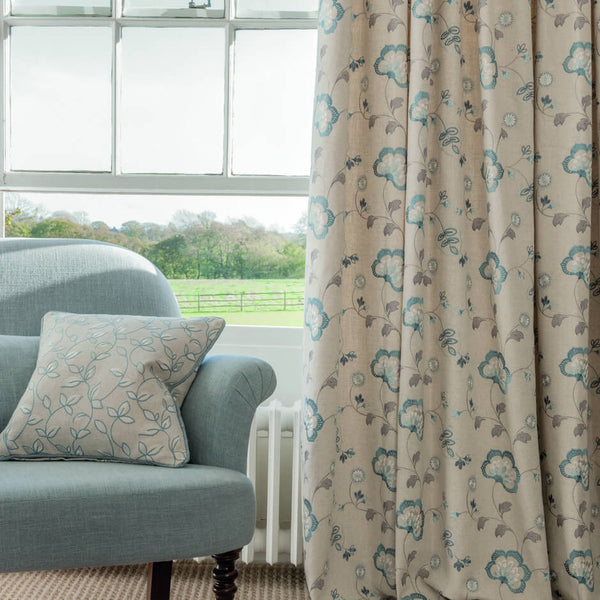 Clarke & Clarke Easton - Chambray Fabrics - Decor Rooms - 2
