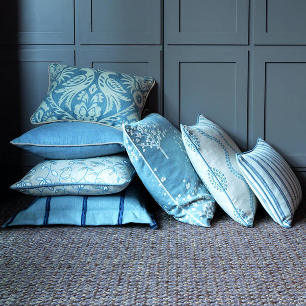 Clarke & Clarke Bowood - Chambray Fabrics - Decor Rooms - 2