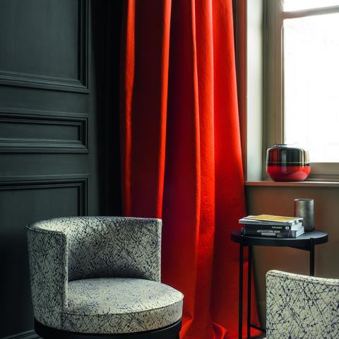 Casamance Ode - Rouge Fabric 36031372 Fabrics - Decor Rooms - 2