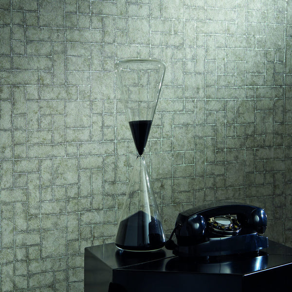 Clarke & Clarke Sandstone - Pearl Wallpaper - Decor Rooms - 2