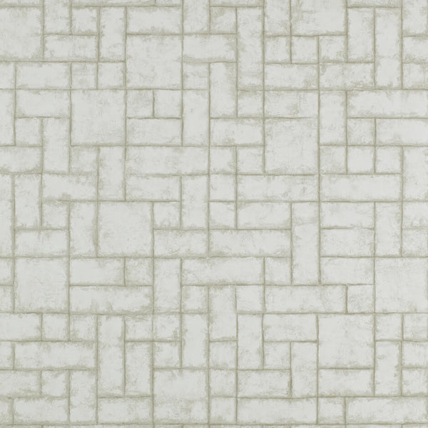 Clarke & Clarke Sandstone - Pearl Wallpaper - Decor Rooms - 1