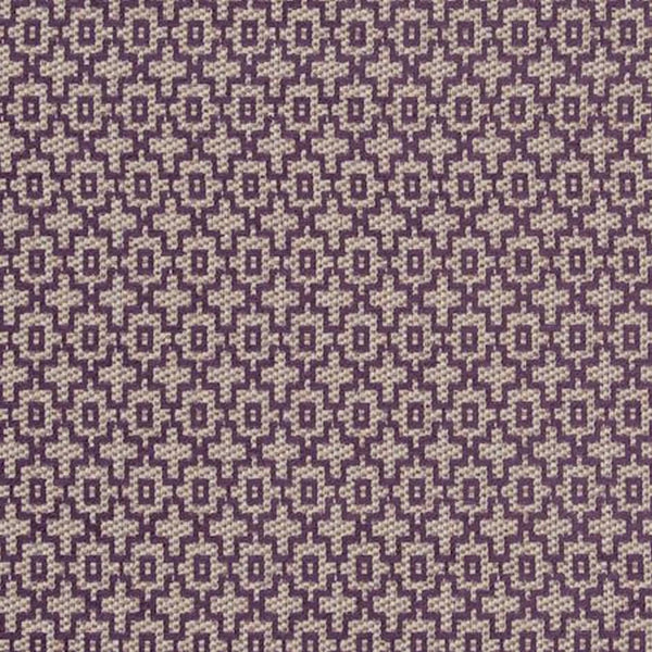 Clarke & Clarke Mansour - Damson Fabrics - Decor Rooms - 1