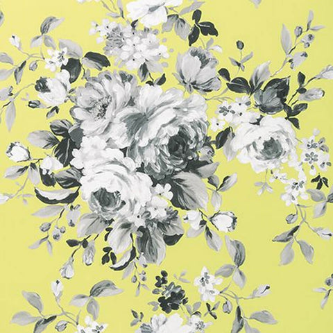 Colony Collection - Emeline Citron Wallpaper by Clarke & Clarke - Decor Rooms