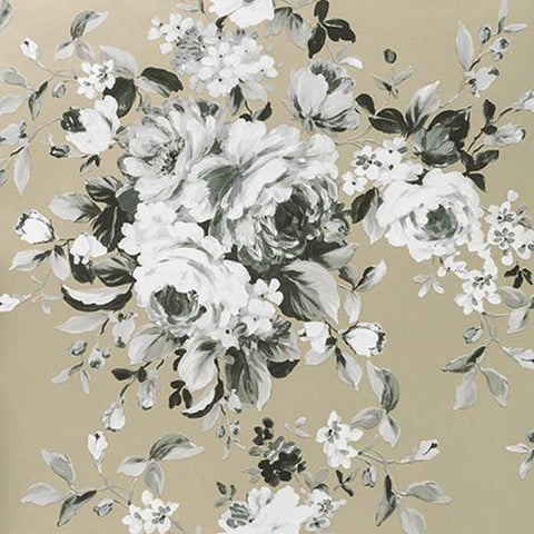 Colony Collection - Emeline Gilver Wallpaper by Clarke & Clarke - Decor Rooms