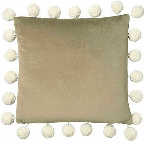 Alvar Bark Cushion by Clarke & Clarke - Decor Rooms