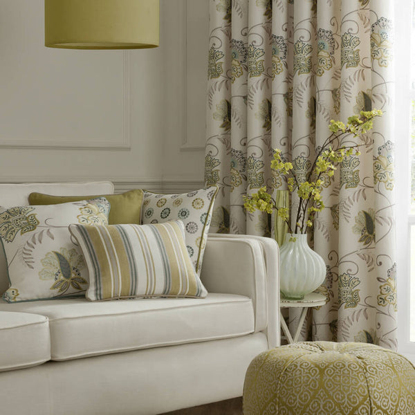 Clarke & Clarke Bukhara - Citrus Fabrics - Decor Rooms - 2