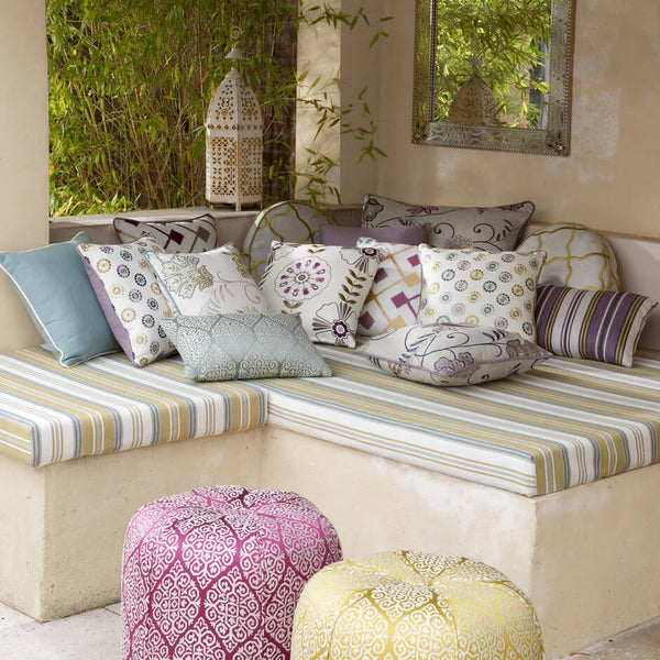 Clarke & Clarke Bijar - Berry Fabrics - Decor Rooms - 2