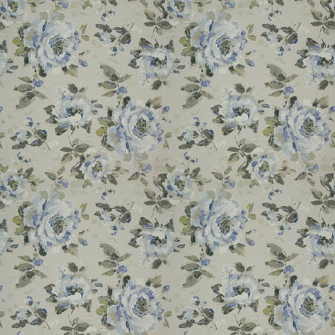 Carousel Bloom Smoke Fabric by Jim Dickens at Decor Rooms