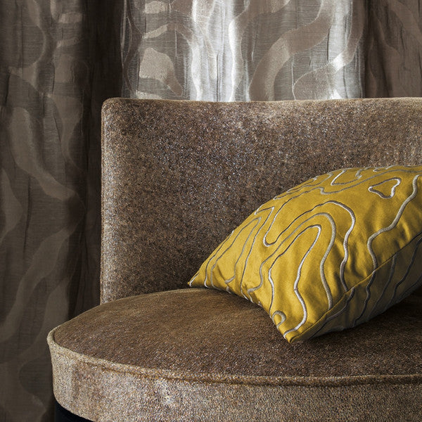 Casamance Ancolie - Caramel Fabric 36020350 Fabrics - Decor Rooms - 2