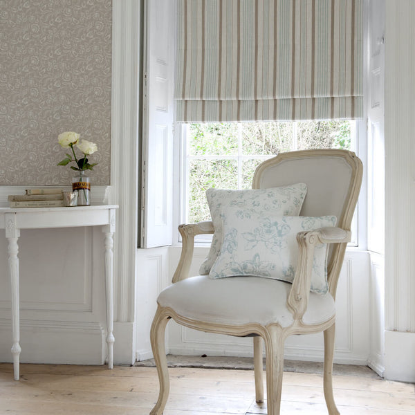 Clarke & Clarke Linen - Ivory Fabrics - Decor Rooms - 2