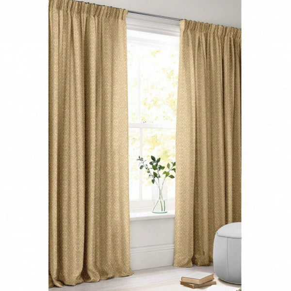 Curtains made from Tala Nutmeg Fabric by Jim Dickens | Decor Rooms