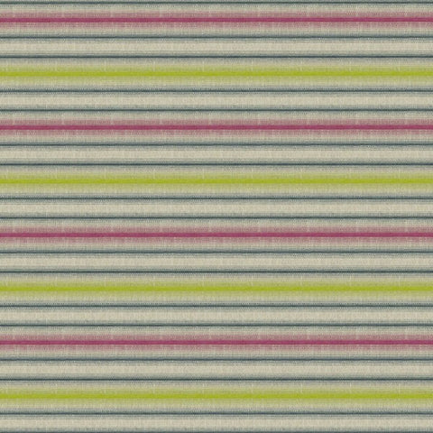 Festival Stripe Carnival Fabric by Jim Dickens at Decor Rooms