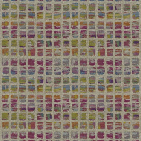 Paintbox Carnival Fabric by Jim Dickens at Decor Rooms
